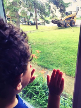 Beej and the backhoe